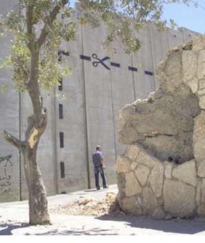 Banksy - streetart - palestijnse muur