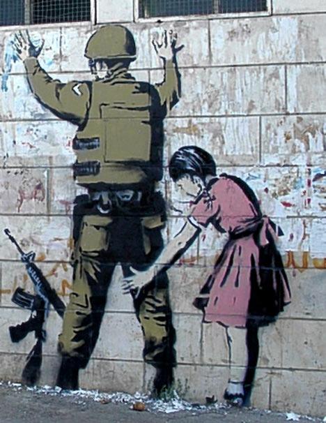 banksy klein meisje soldaat
